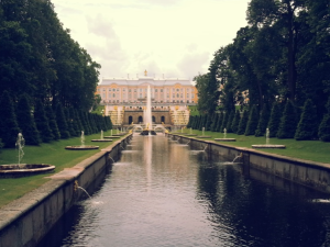 The Summer Palace in Peterhof, St Petersburg